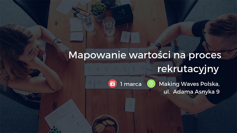 Warsztat: mapowanie wartości na proces rekrutacyjny